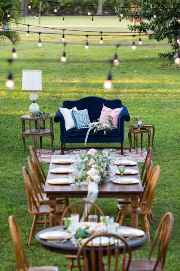 Rustic Style Out-Doors Wedding Reception | 59&Bluebell Weddings and Events