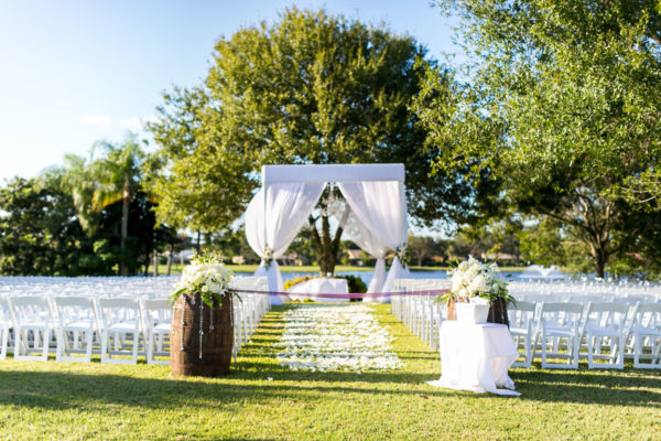 Wedding Runway with Flower Pedals | 59&Bluebell Weddings and Events