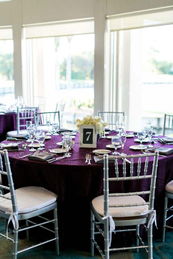 Wedding Reception Purple | 59&Bluebell Weddings and Events