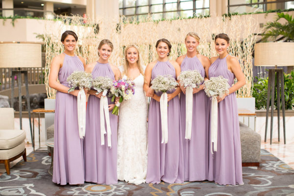 Bride and Brides-Mates | 59&Bluebell Weddings and Events