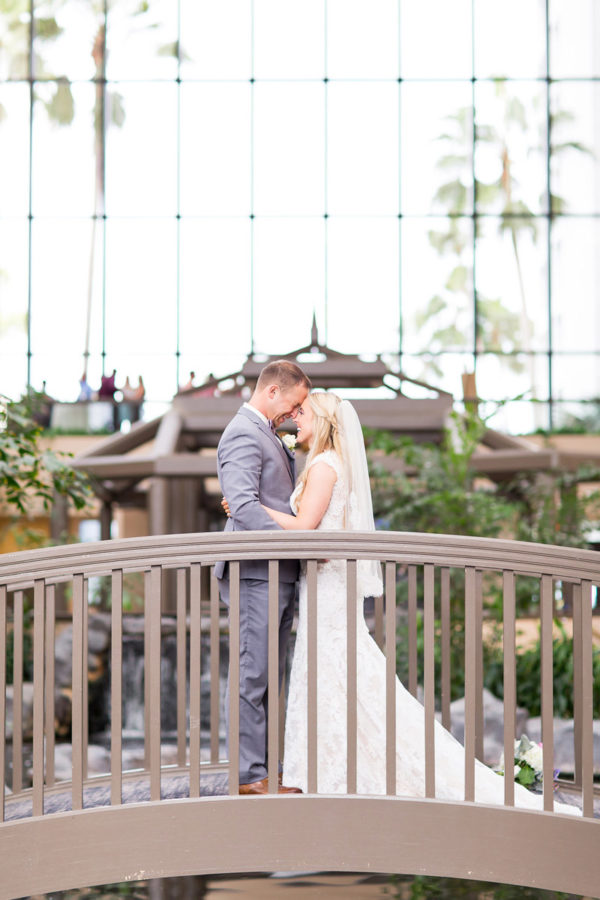 Husband and Wife on Bridge | 59&Bluebell Weddings and Events
