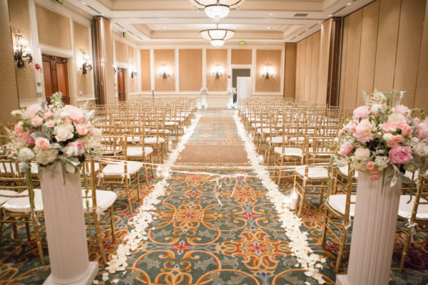 Wedding Hall Decorated | 59&Bluebell Weddings and Events