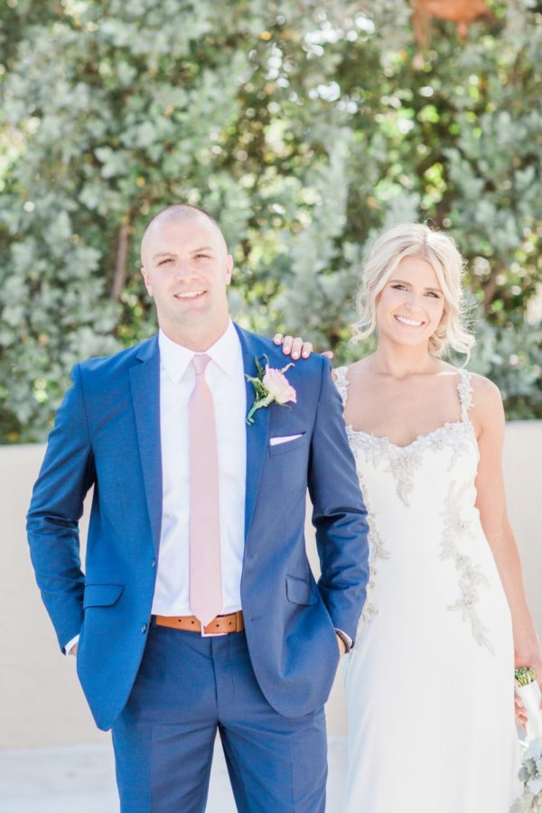 Bride and Groom Outdoors | 59&Bluebell