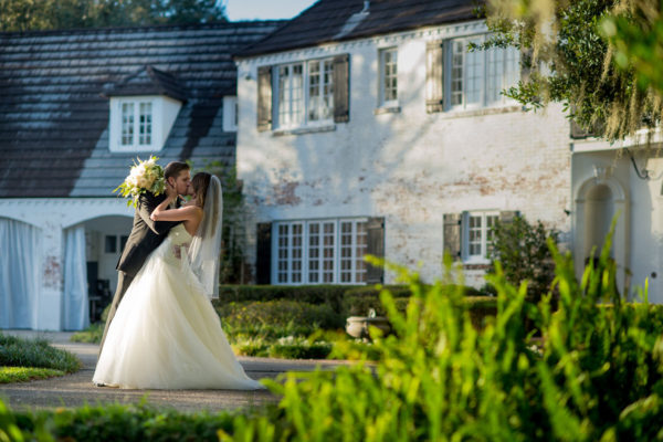 Bride and Groom Wedding Kissing | 59&Bluebell Weddings and Events