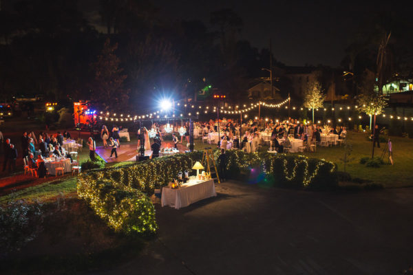 Wedding Reception at Night | 59&Bluebell Weddings and Events