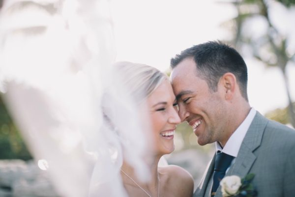 Husband and Wife Smiling Together | 59&Bluebell Weddings and Event
