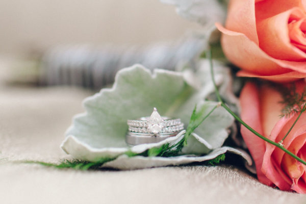 Close-Up Wedding Ring | 59&Bluebell Weddings and Events