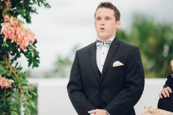 Groom waiting for Bride | 59&Bluebell Weddings and Events