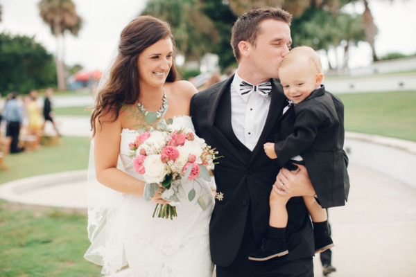 Husband and Wife with Baby Boy | 59&Bluebell Weddings and Events
