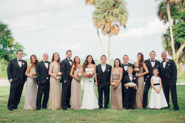 Bride and Groom with Best Men and Brides Mates | 59&Bluebell Weddings and Events