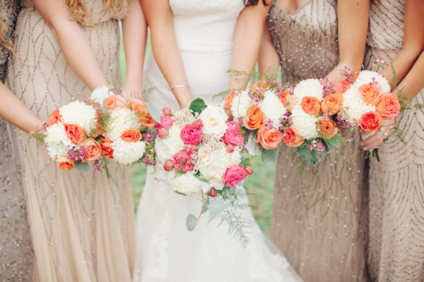 Bride and Brides-Mates Bouquet | 59&Bluebell Weddings and Events