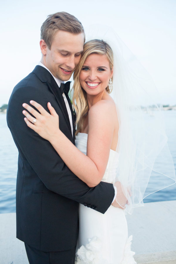 Newly Weds Embracing Each Other as Husband and Wife | 59&Bluebell Weddings and Events