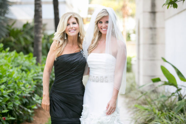 Bride and Mother Smiling Before Wedding | 59&Bluebell Weddings and Events