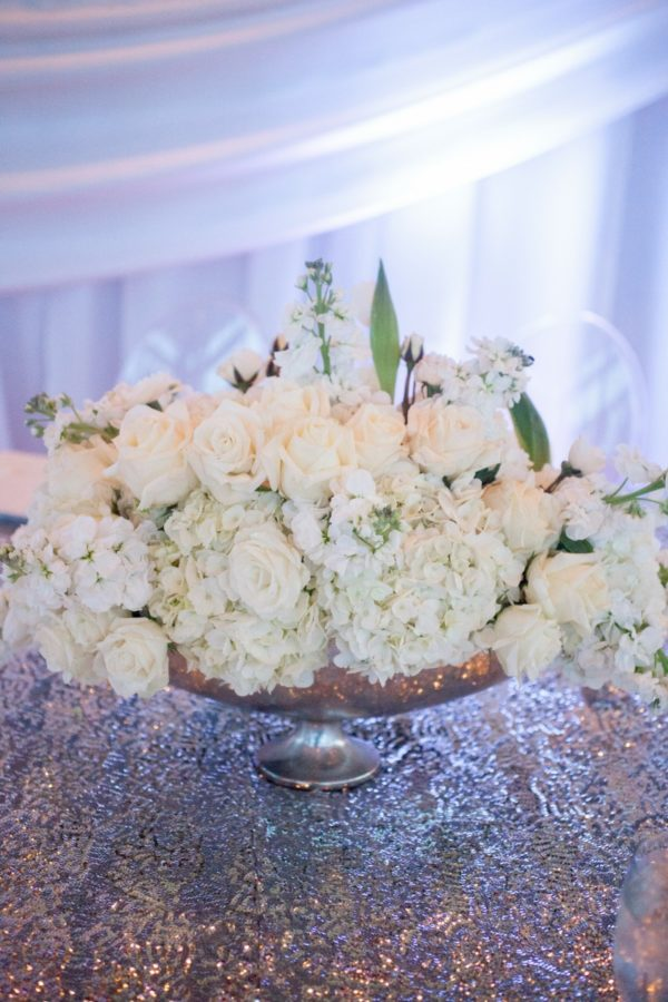 Bouquets of White Wedding Roses | 59&Bluebell