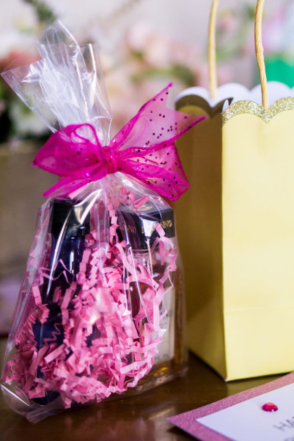 Birthday table decor with party gifts | 59&Bluebell Weddings and Events