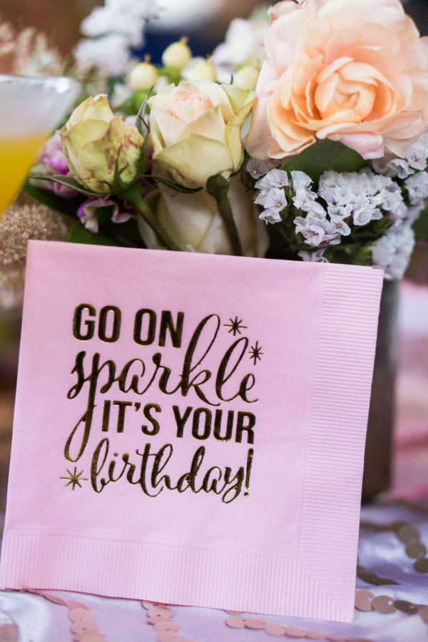 Birthday Table Decor | 59&Bluebell Weddings and Events