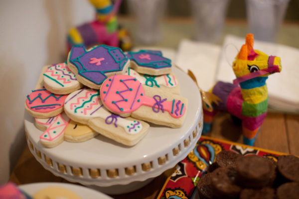 Baby Birthday Party Cookies and Decorations | 59&Bluebell Weddings and Events