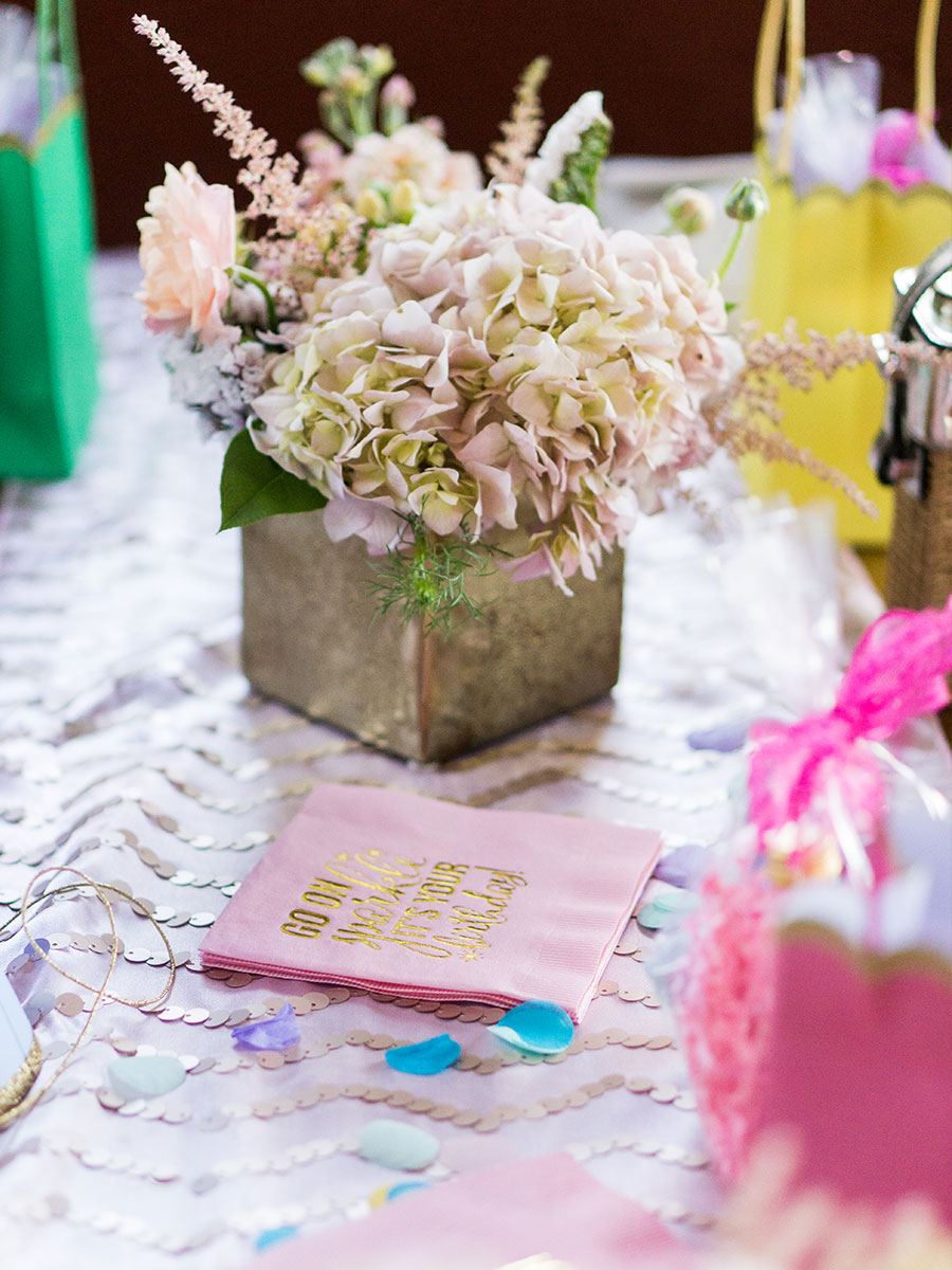 Birthday Table Decorations | 59&Bluebell Weddings and Events